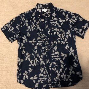 Men's Old Navy Floral Button Up
